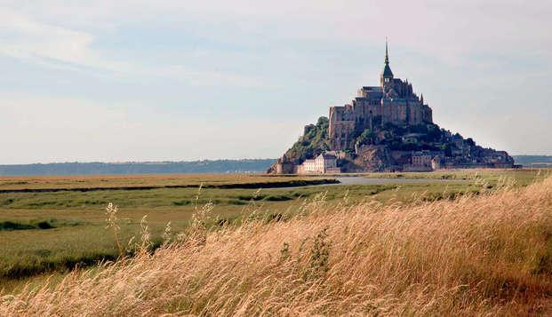 Week-end en chambre twin au Mont-Saint-Michel