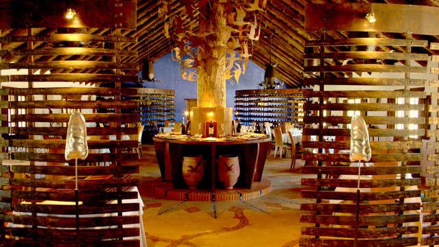Escápate en pleno centro de Doñana y degusta una cena de calidad 5 estrellas