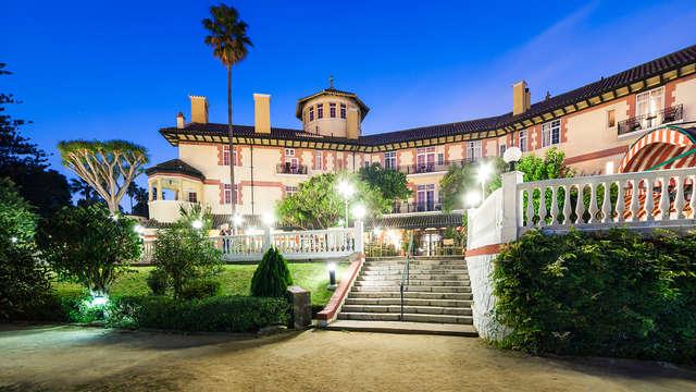 Oferta exclusiva en hotel 4*: pensión completa, piscina bajo palmeras y delante de la playa