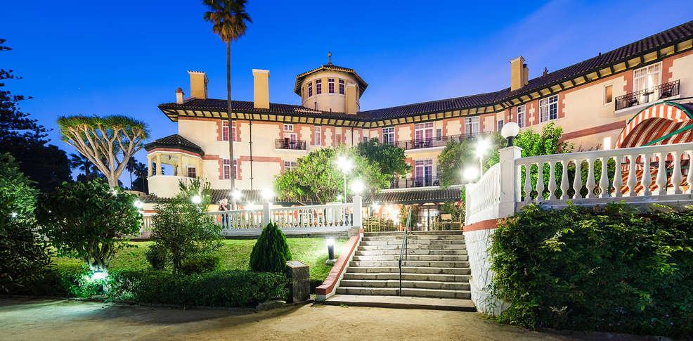 Hotel globales reina cristina 4 algeciras espagne for Jardin tecina booking