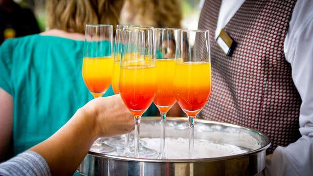 Zomers genieten met een gratis cocktail