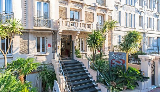 Disfruta de una maravillosa habitación prestige en Cannes