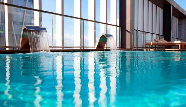 Escapada con Spa y acceso a la Sala VIP cerca de la playa de Barcelona