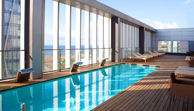 Romanticismo e relax con spumante a Barcellona