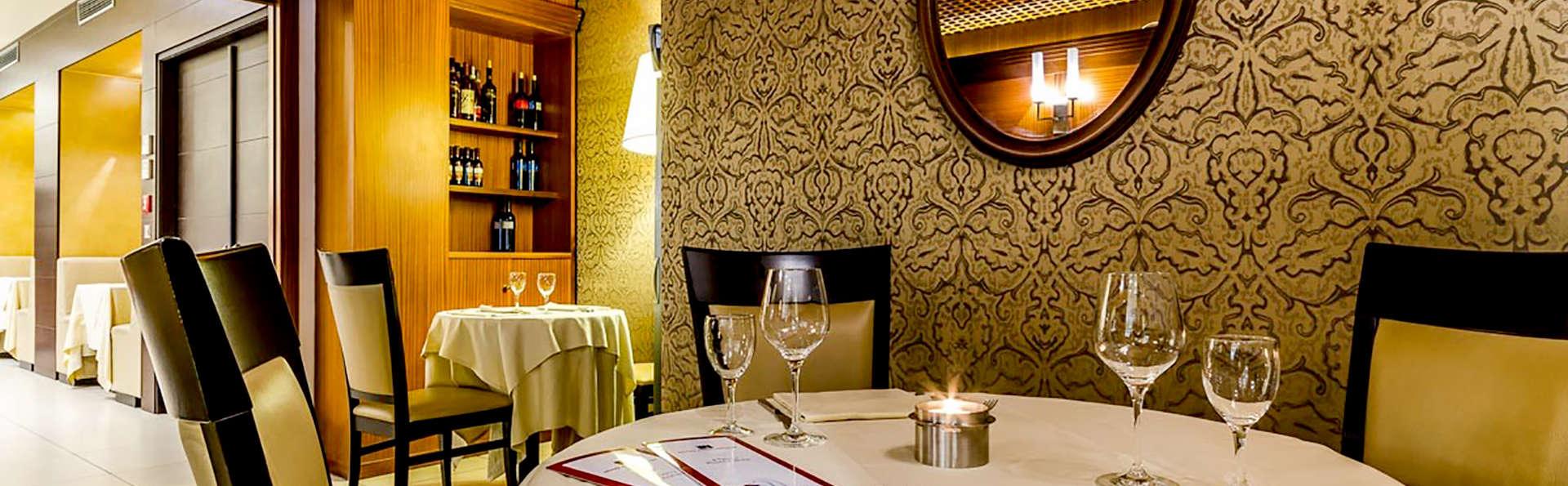 Romantisme avec dîner dans un élégant 4 * aux portes de Venise