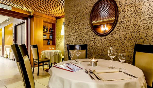 Romanticismo con cena en un elegante 4* a las puertas de Venecia