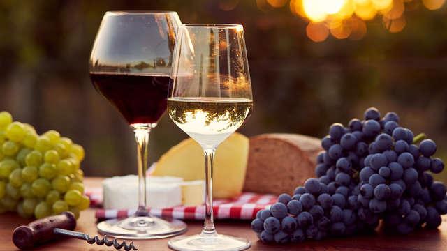 Soggiorno romantico con cena e biglietti per il Museo del Vino a Cherasco