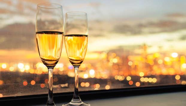 Offre exclusive: Romantisme, gastronomie et chambre avec hydromassage (2 nuits)