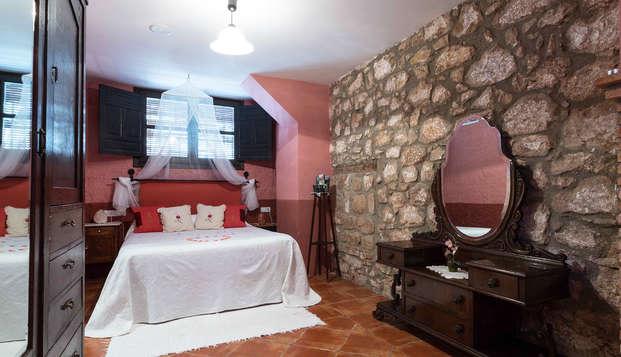 Escapade en chambre supérieure à Jaén : dîner, cava et visite d'un château