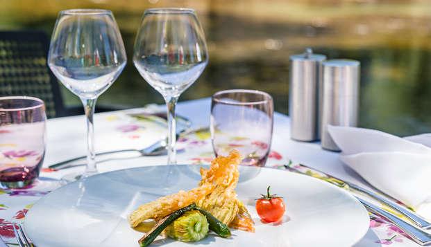 Le Domaine de la Petite Isle - Luberon - dinner
