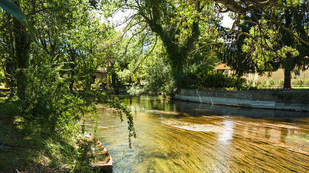 Week-end au coeur du Luberon avec balade en kayak sur la Sorgue