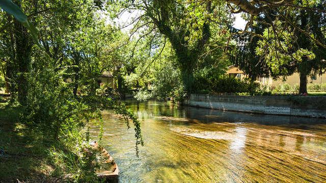 En el corazón del macizo del Luberon con paseo en kayak por el río Sorgue