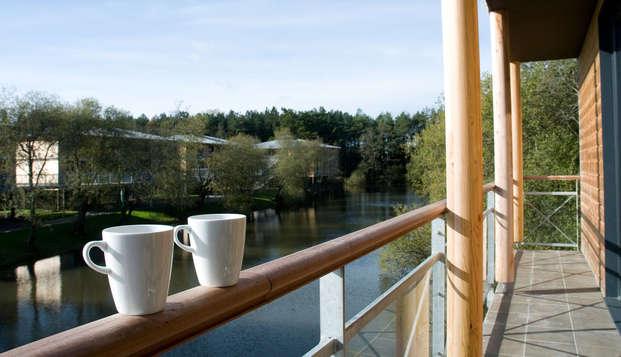 Golf Resort Spa Domaine Cice Blossac - balcon view