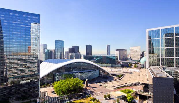 Week-end 5* et visite du toit de la Grande Arche de La Défense