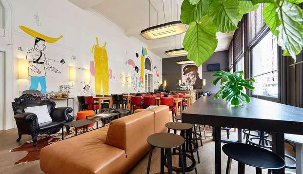 Ambiance italienne dans un hôtel de charme au cœur d'Ostende