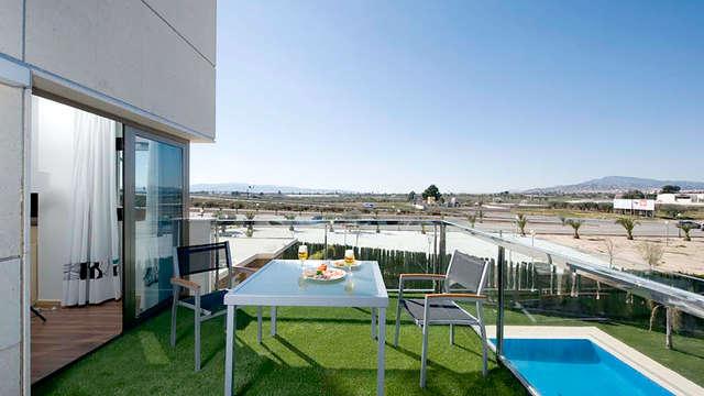 Momento relax y romántico en la región de Murcia