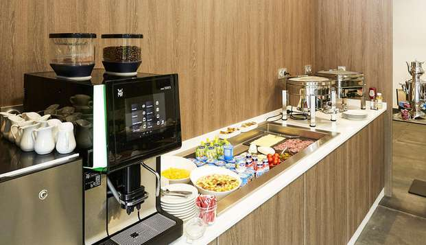 Quality Hotel Belfort Centre - breakfast