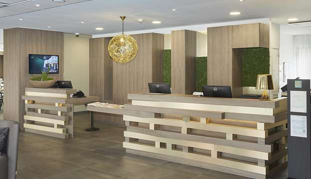 Quality Hotel Belfort Centre - reception