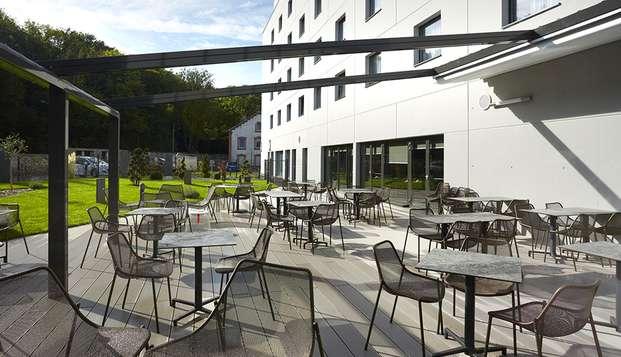 Quality Hotel Belfort Centre - terras