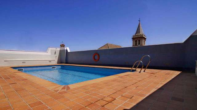 Hotel San Gil - terrace