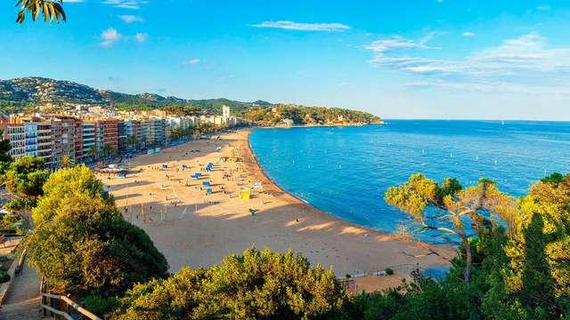 Séjour sur la côte brava a Lloret dans un hotel avec piscine et belles vues