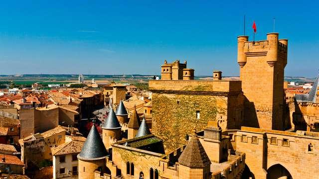 Escapada Relax con acceso al Spa y visita guiada al Castillo de Olite
