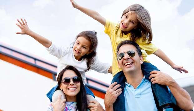 Escapade familiale pouvant accueillir jusqu'à 2 adultes et 2 enfants à Guardamar
