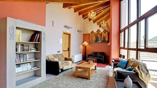 Romanticismo en suite y con spa privado en un enclave natural y cultural
