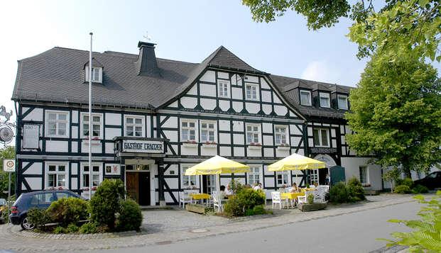 Déguster de la bière Warsteiner au cours de la visite de la brasserie (à partir de 2 nuits)