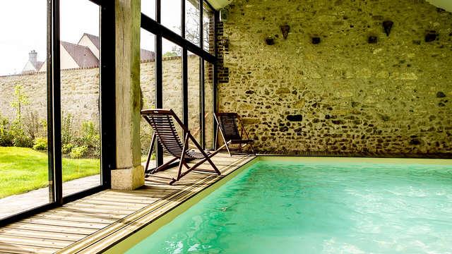 Luxe en ontspanning in een charmehotel nabij Parijs