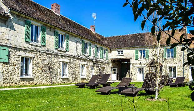 Relaxverblijf in een 'Chalet'-kamer in Oise