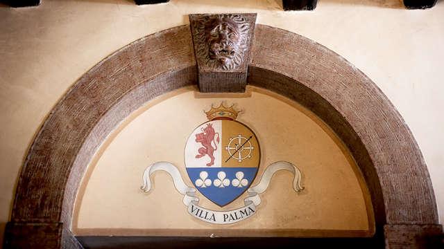 Soggiorno in Junior Suite in una tradizionale villa d'epoca veneta a Bassano del Grappa