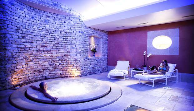 Relax absoluto en habitación de lujo con jacuzzi cerca de Aviñón