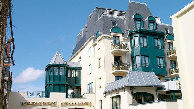 Séjour à la mer avec dîner sur la digue de Saint-Malo