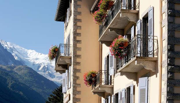 Week-end détente & SPA à la montagne, à Chamonix