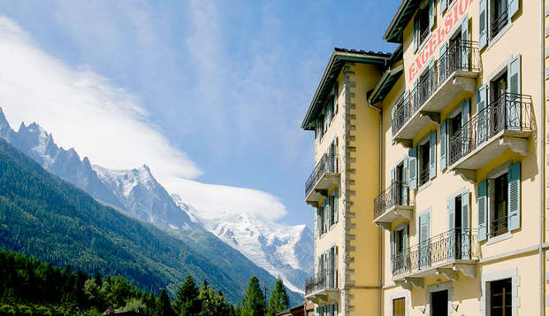 Détente & SPA en chambre avec balcon, à Chamonix