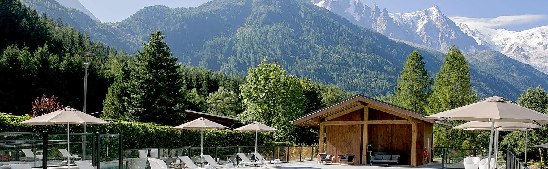 Détente et bien-être sous le soleil des Alpes, à Chamonix