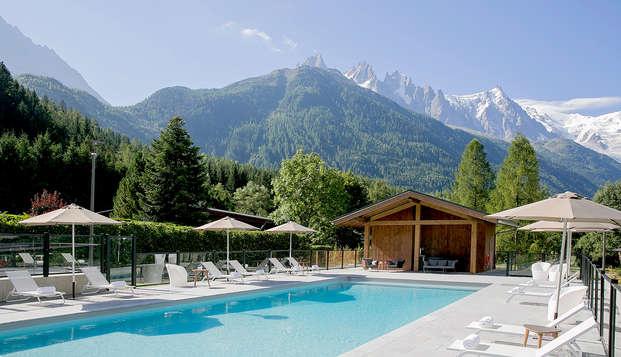 Évasion au cœur des montagnes à Chamonix