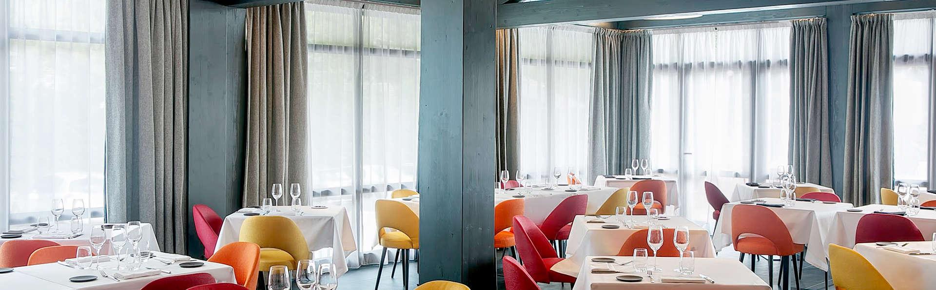 Dîner, détente et chambre avec balcon, à Chamonix