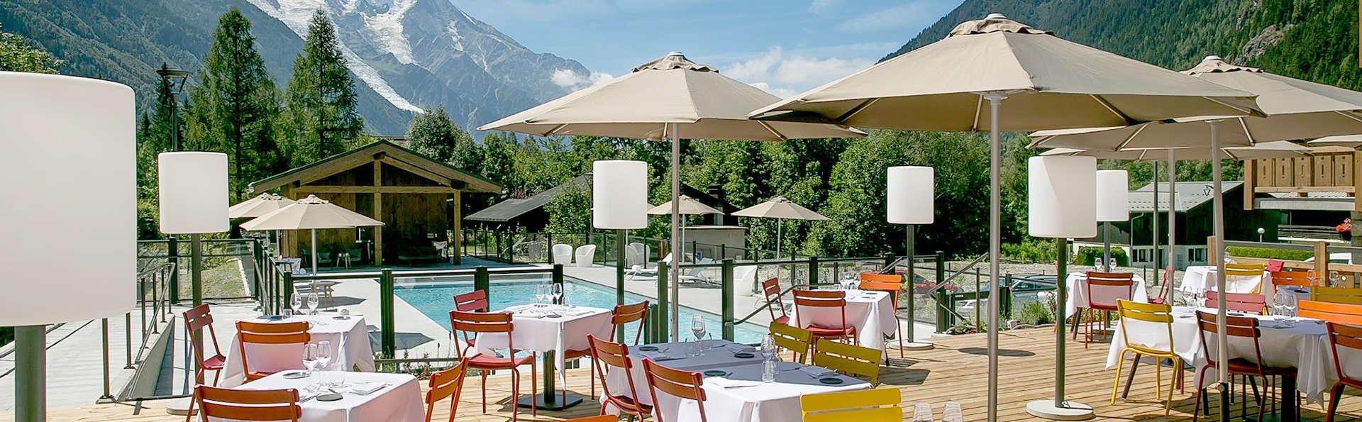 Parenthèse gustative et accès spa,  en altitude à Chamonix