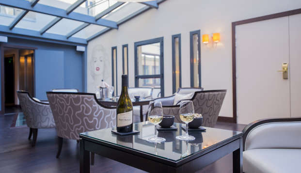 Best Western Cannes Riviera et Spa - lounge Champagne