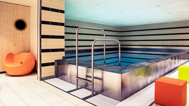 1 toegang tot het binnenzwembad voor 2 volwassenen