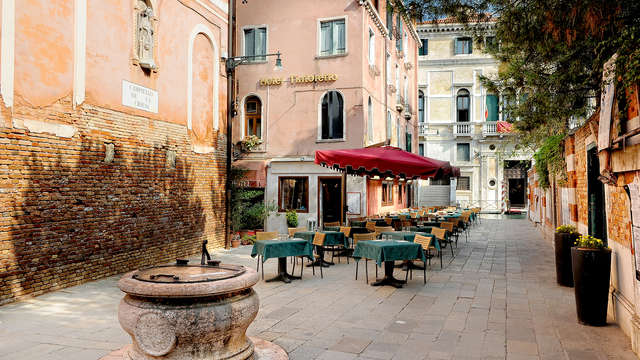 Venise avec une entrée au Casino, dans un élégant hôtel situé dans le centre historique