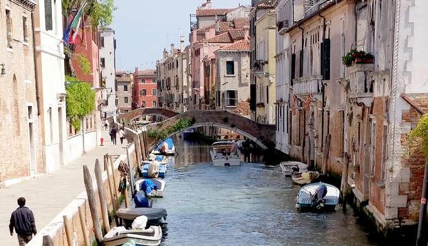 Estancia en el corazón de la romántica Venecia