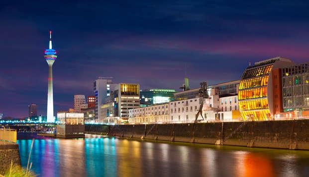 Disfruta de una noche extra gratis en Düsseldorf (3 noches por el precio de 2)
