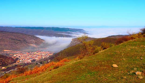 Escapada en pareja con desayuno y  visita a bodega con vistas al valle Ezcaray