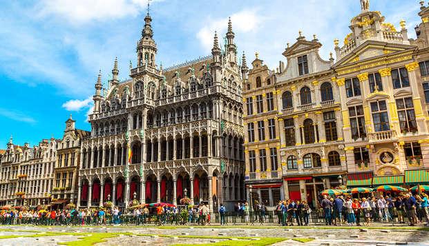 City trip de luxe et détente en chambre supérieure à Bruxelles