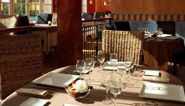 Oferta especial: Escapada relax con acceso al spa y cena cerca de Toulouse