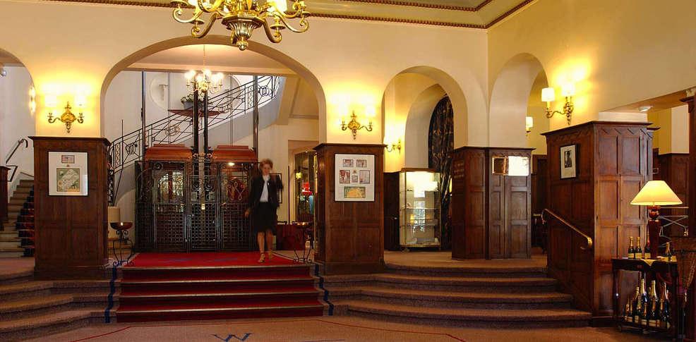 Hotel Icon Foyer : Hôtel barrière le westminster touquet france