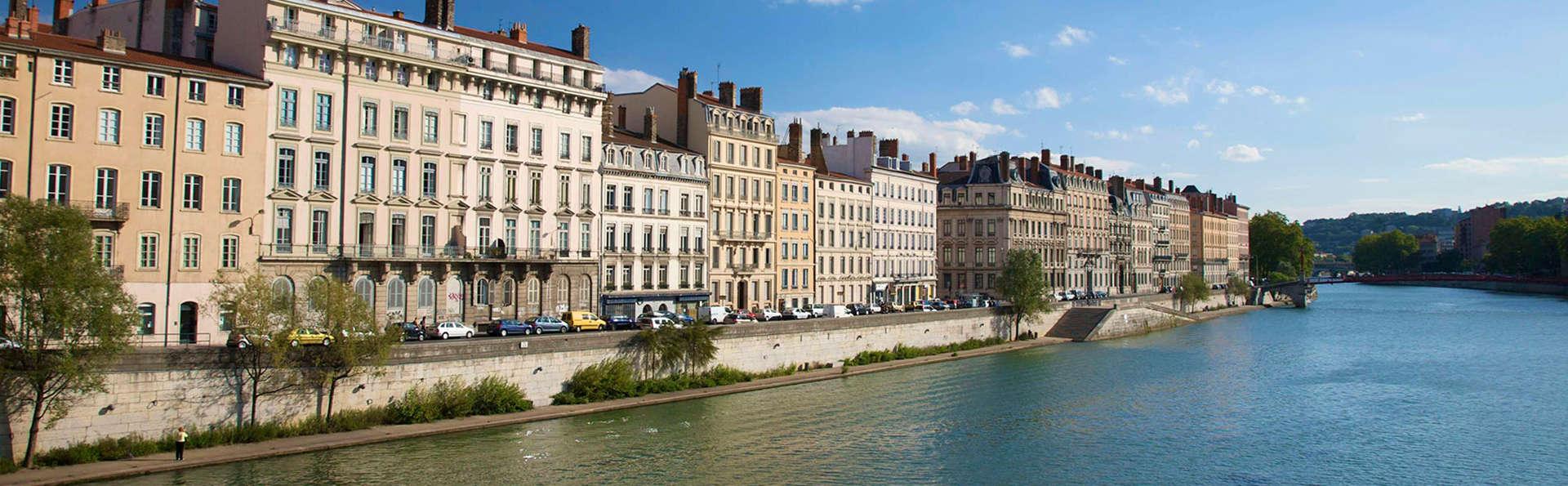 Escapade en plein cœur de Lyon, en chambre supérieure